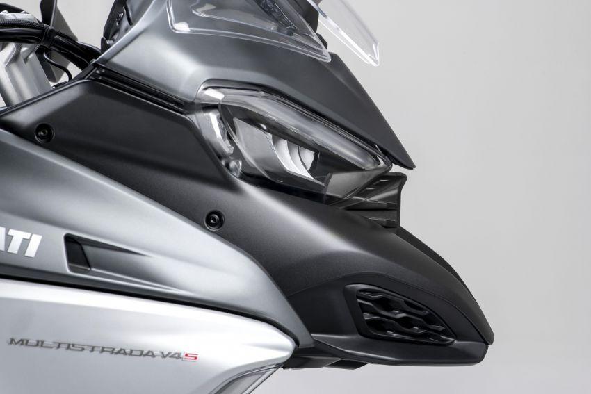 Ducati Multistrada V4, V4S dan V4S Sport diperkenal – enjin V4 Granturismo 170 hp, Adaptive Cruise Control Image #1204529