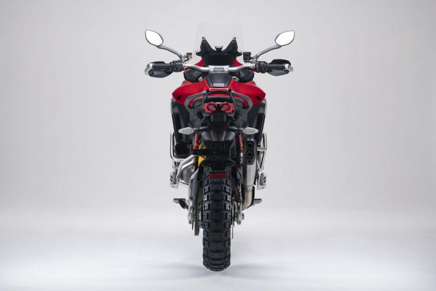 Ducati Multistrada V4, V4S dan V4S Sport diperkenal – enjin V4 Granturismo 170 hp, Adaptive Cruise Control Image #1204535