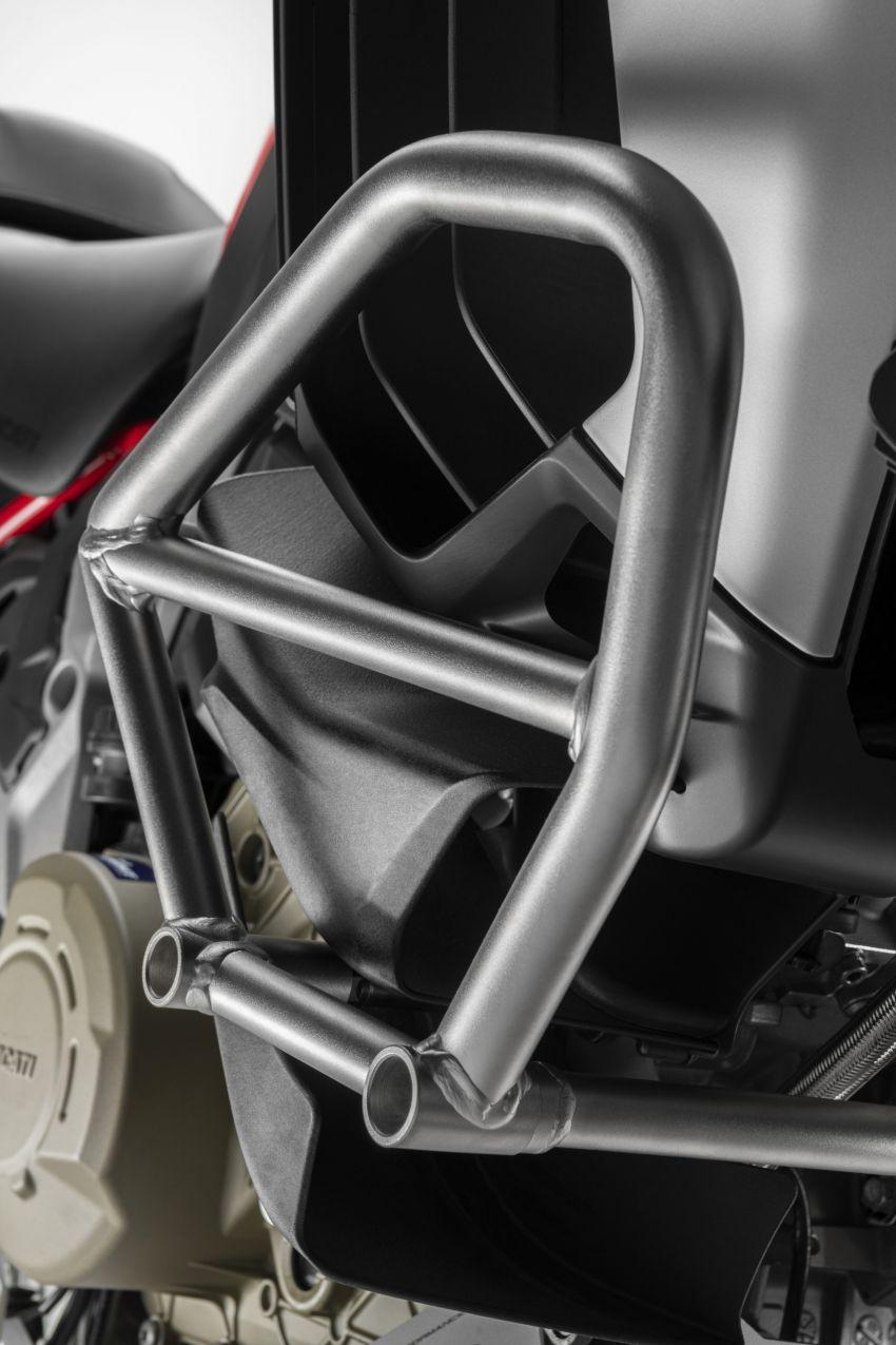 Ducati Multistrada V4, V4S dan V4S Sport diperkenal – enjin V4 Granturismo 170 hp, Adaptive Cruise Control Image #1204540