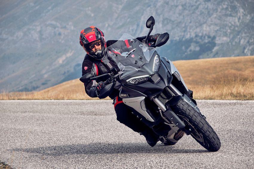 Ducati Multistrada V4, V4S dan V4S Sport diperkenal – enjin V4 Granturismo 170 hp, Adaptive Cruise Control Image #1204542