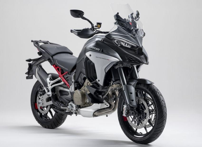 Ducati Multistrada V4, V4S dan V4S Sport diperkenal – enjin V4 Granturismo 170 hp, Adaptive Cruise Control Image #1204544
