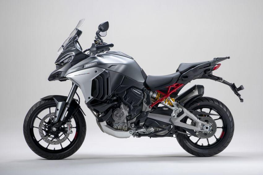 Ducati Multistrada V4, V4S dan V4S Sport diperkenal – enjin V4 Granturismo 170 hp, Adaptive Cruise Control Image #1204498