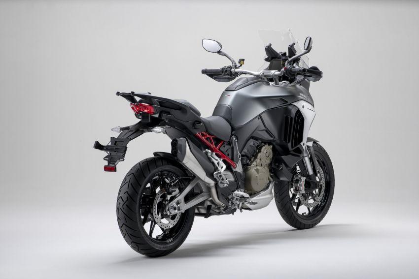 Ducati Multistrada V4, V4S dan V4S Sport diperkenal – enjin V4 Granturismo 170 hp, Adaptive Cruise Control Image #1204503