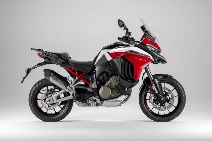 Ducati Multistrada V4, V4S dan V4S Sport diperkenal – enjin V4 Granturismo 170 hp, Adaptive Cruise Control Image #1204550