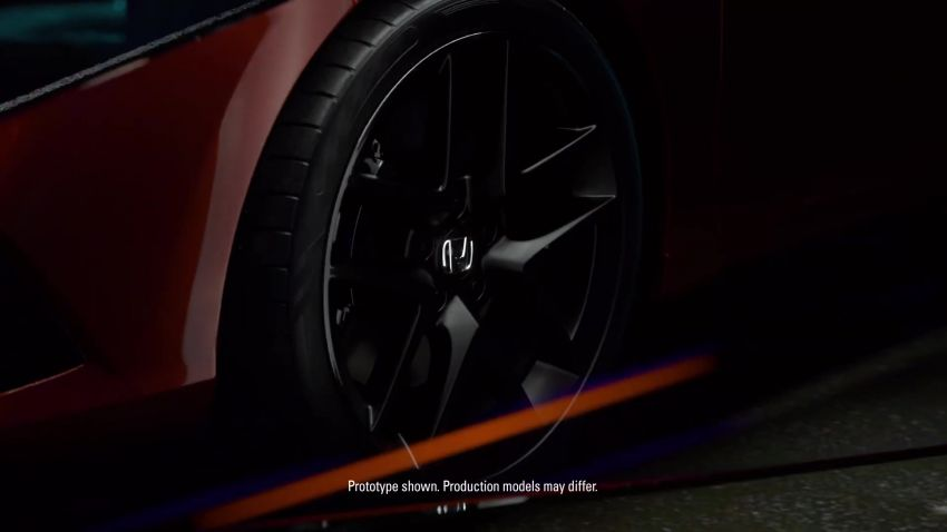 Eleventh-generation Honda Civic prototype gets teased – official debut to take place on November 17 Image #1208992