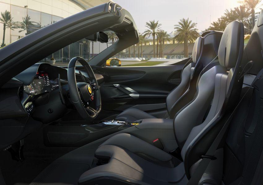 Ferrari SF90 Spider – hybrid's drop-top version debuts Image #1209042