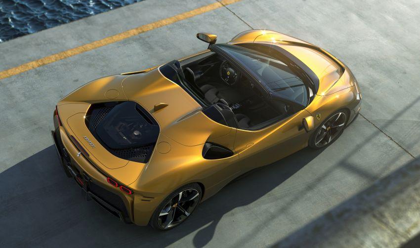 Ferrari SF90 Spider – hybrid's drop-top version debuts Image #1209045