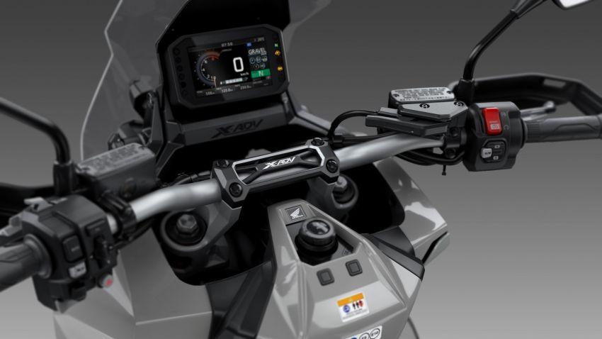 Honda X-ADV 2021 – kuasa dipertingkat, lebih canggih Image #1207429