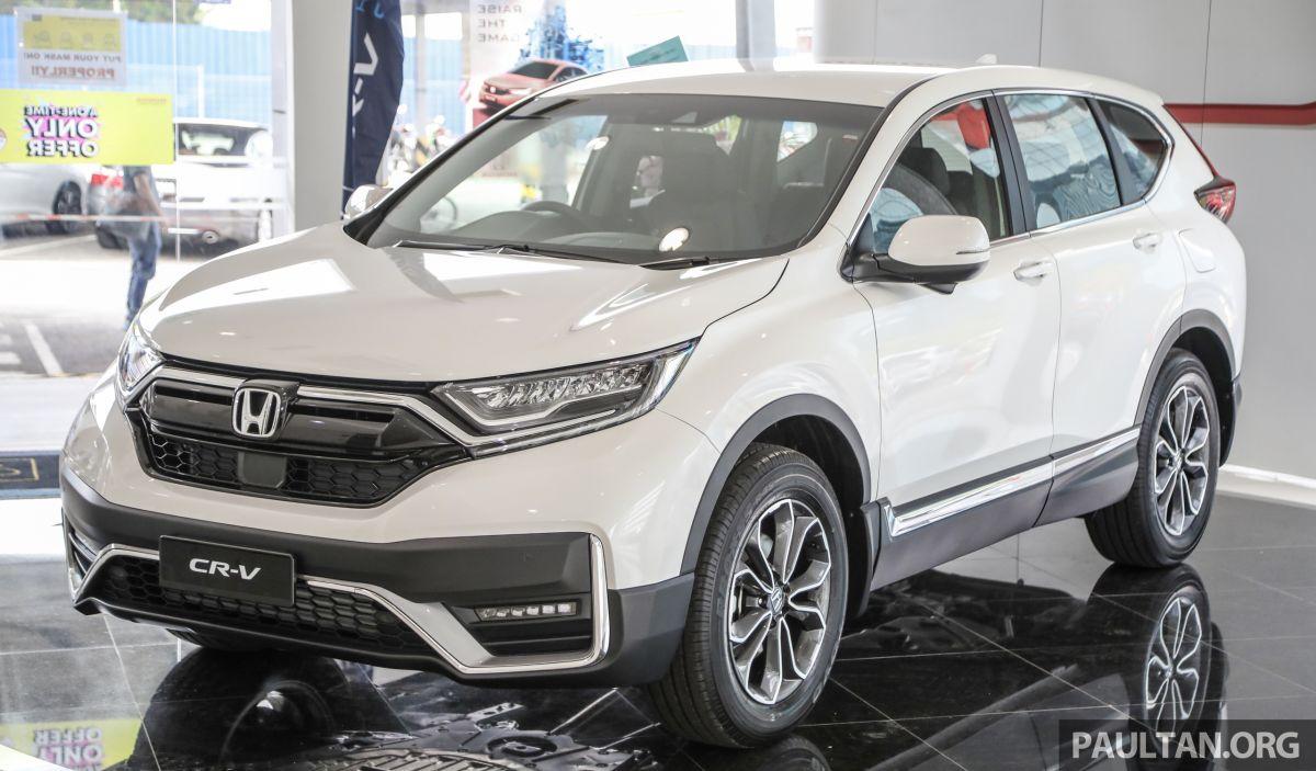 GALLERY: 2021 Honda CR-V facelift - TC-P 2WD, 4WD ...