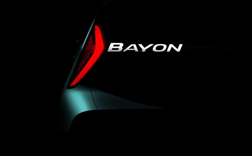 Hyundai Bayon – new compact SUV for Europe named Image #1216867