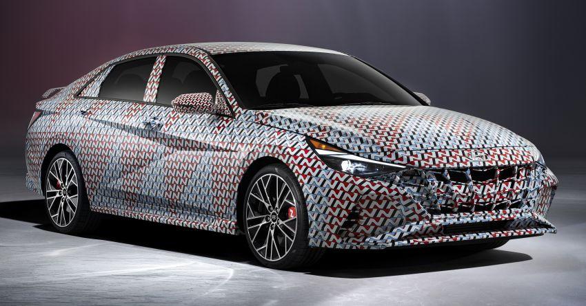 2022 Hyundai Elantra N teased ahead of official debut Image #1206197