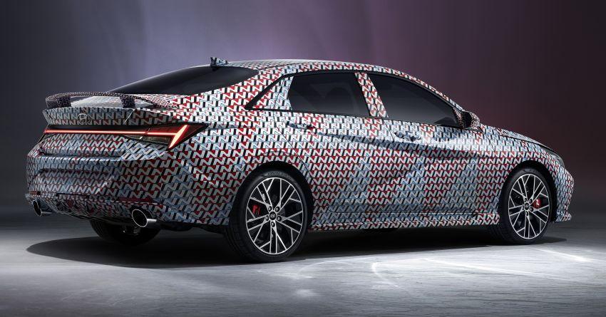 2022 Hyundai Elantra N teased ahead of official debut Image #1206198