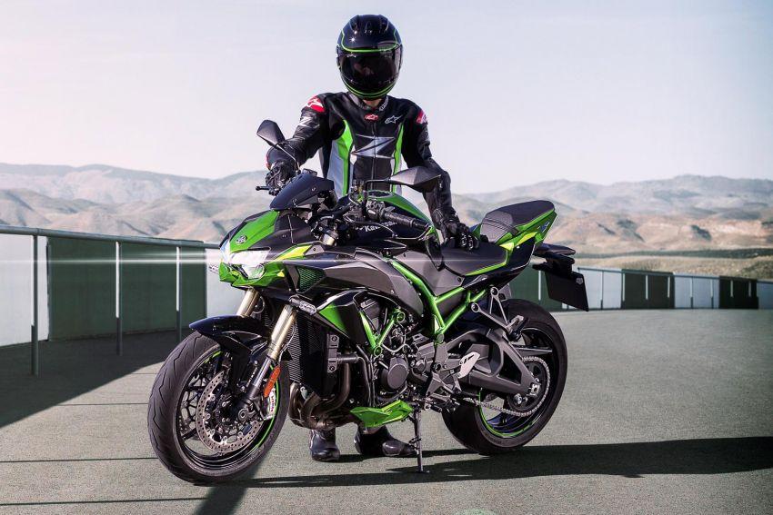 2021 Kawasaki Z H2 SE gets electronic suspension Image #1215838