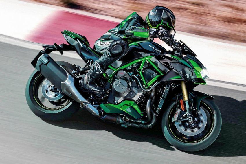2021 Kawasaki Z H2 SE gets electronic suspension Image #1215842