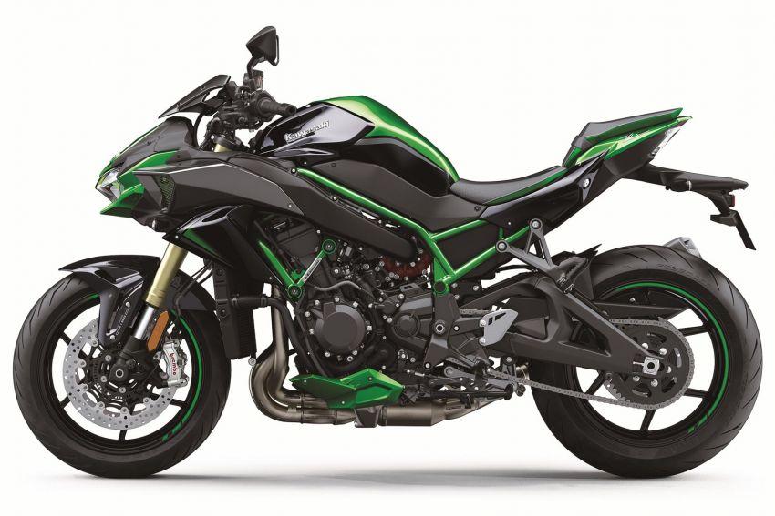 2021 Kawasaki Z H2 SE gets electronic suspension Image #1215844