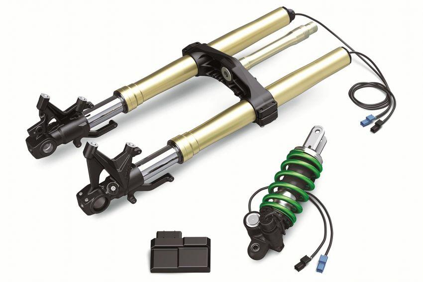2021 Kawasaki Z H2 SE gets electronic suspension Image #1215829