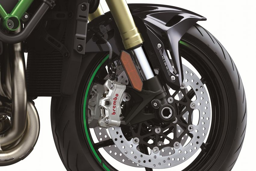 2021 Kawasaki Z H2 SE gets electronic suspension Image #1215830