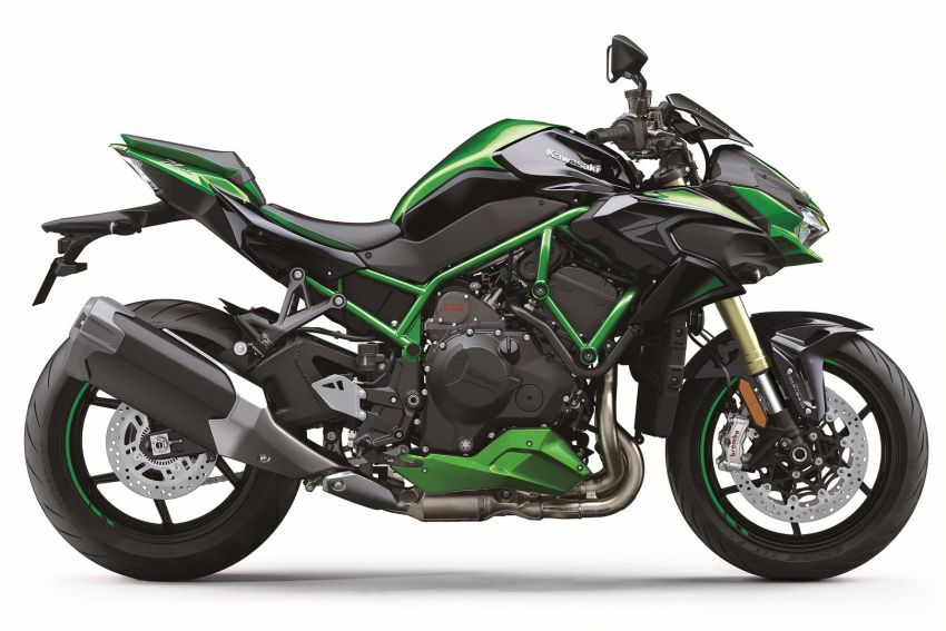 2021 Kawasaki Z H2 SE gets electronic suspension Image #1215832