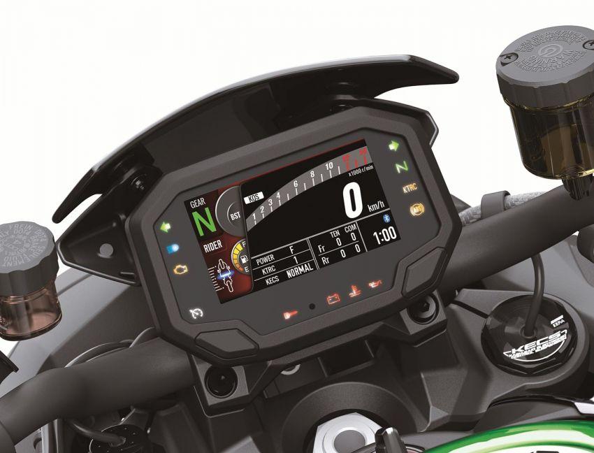 2021 Kawasaki Z H2 SE gets electronic suspension Image #1215835