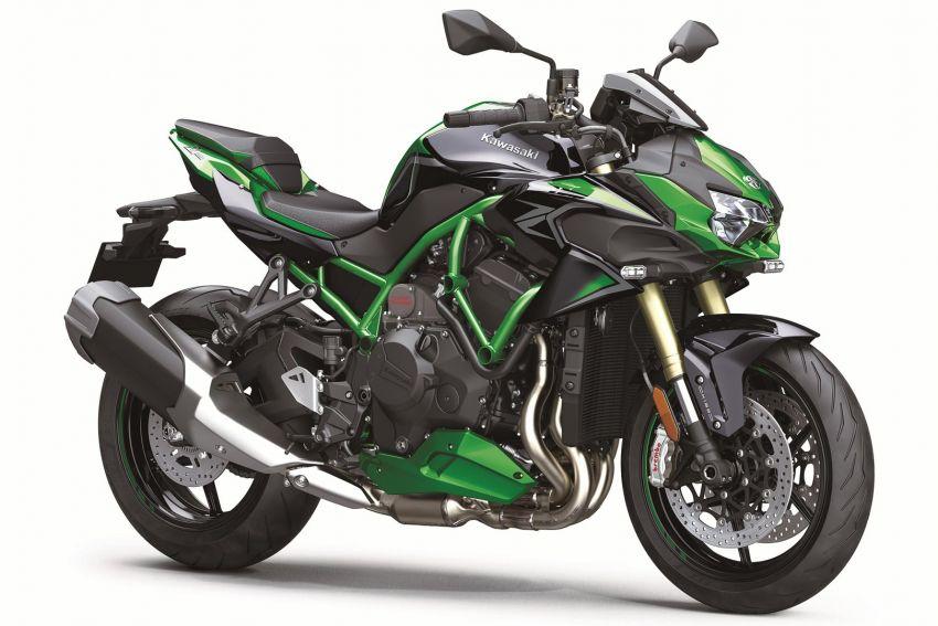 2021 Kawasaki Z H2 SE gets electronic suspension Image #1215845