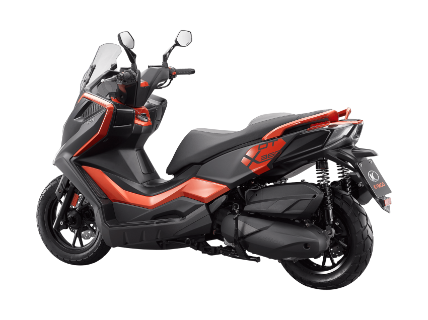 2021 Kymco F9, KRV and DT X360 scooters launched Image #1217634