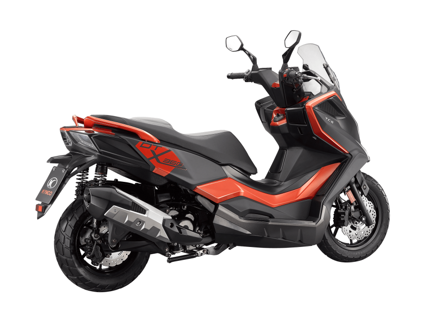 2021 Kymco F9, KRV and DT X360 scooters launched Image #1217636