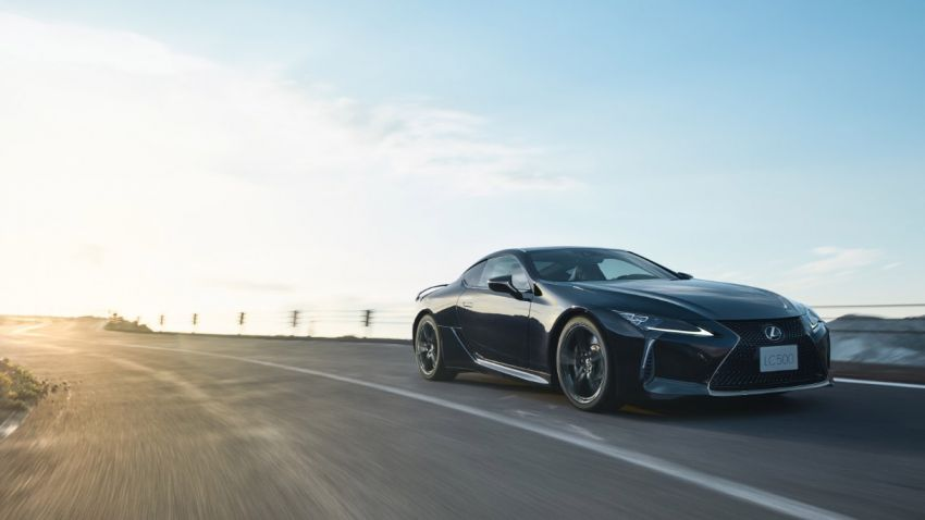 Lexus LC Aviation – a 70-unit limited edition for Japan Image #1202147