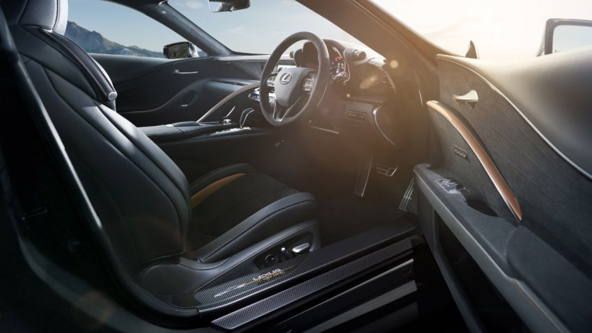Lexus LC Aviation – a 70-unit limited edition for Japan Image #1202158