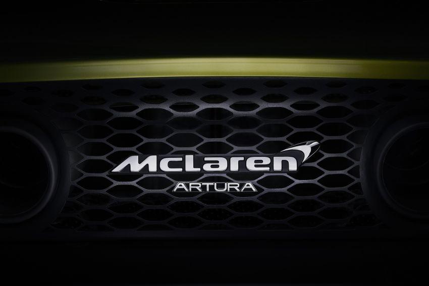 McLaren Artura – new hybrid V6 supercar gets a name Image #1215358