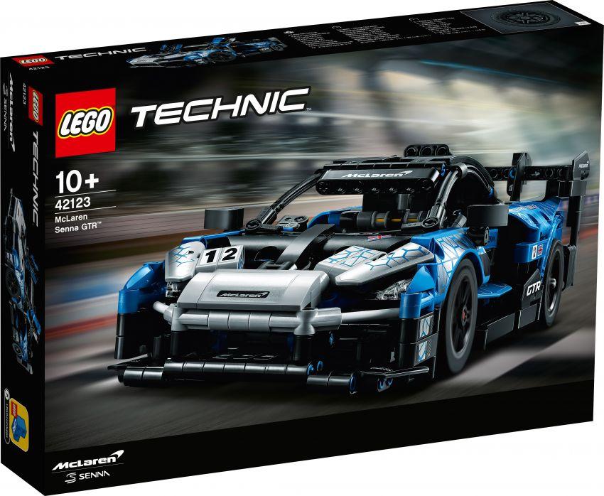Lego Technic McLaren Senna GTR revealed – 830-piece set with moving V8, dihedral doors, blue livery Image #1218579