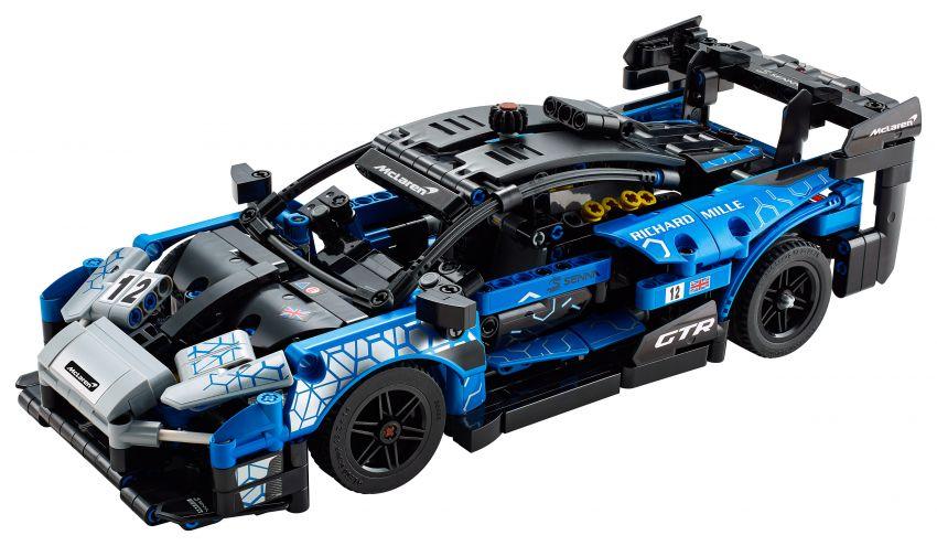 Lego Technic McLaren Senna GTR revealed – 830-piece set with moving V8, dihedral doors, blue livery Image #1218574