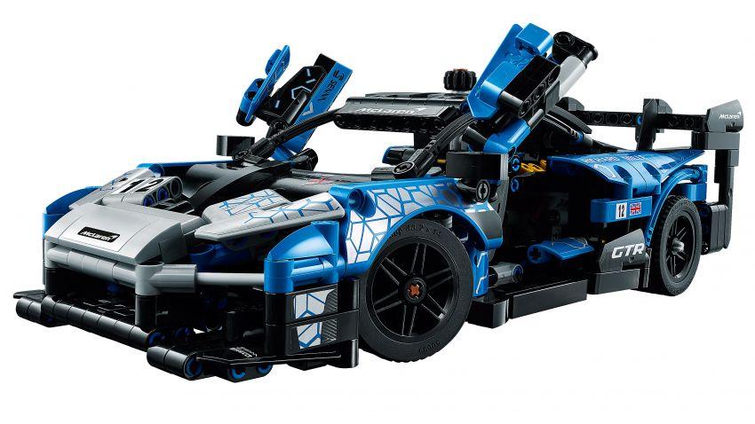 Lego Technic McLaren Senna GTR revealed – 830-piece set with moving V8, dihedral doors, blue livery Image #1218576