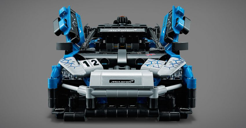 Lego Technic McLaren Senna GTR revealed – 830-piece set with moving V8, dihedral doors, blue livery Image #1218577