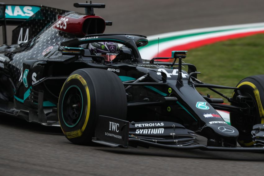 Mercedes AMG Petronas clinches 7th straight F1 titles Image #1202263