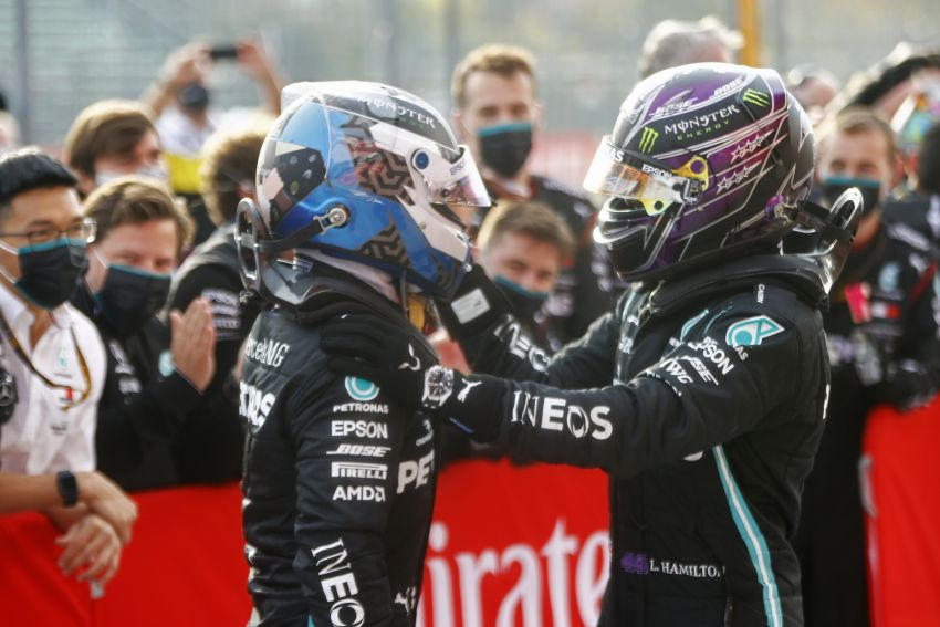 Mercedes AMG Petronas clinches 7th straight F1 titles Image #1202266