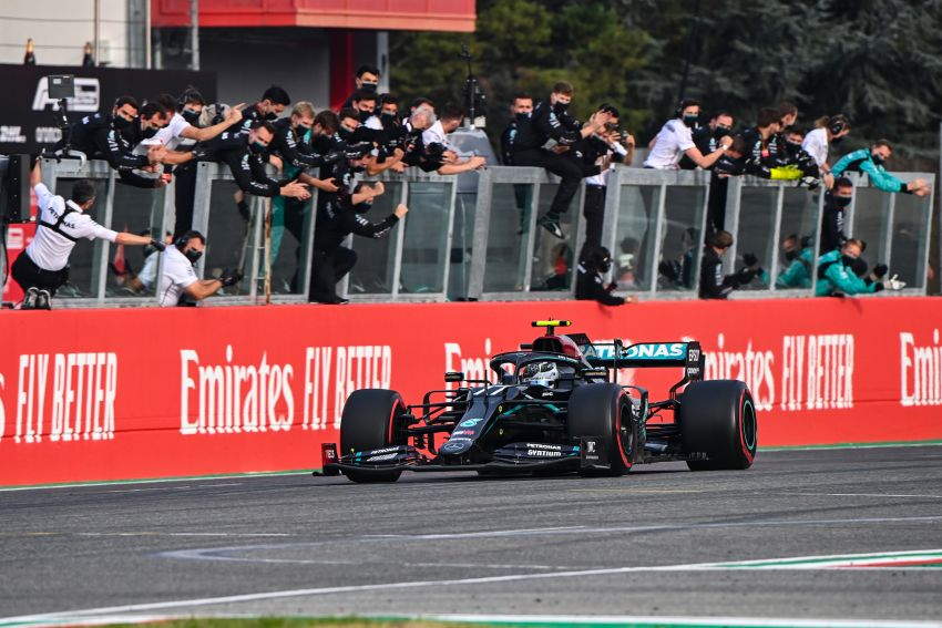 Mercedes AMG Petronas clinches 7th straight F1 titles Image #1202268