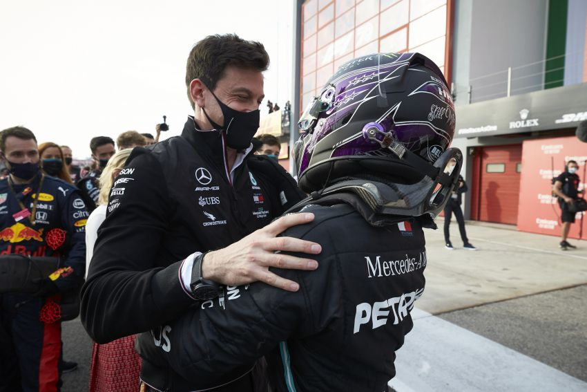 Mercedes AMG Petronas clinches 7th straight F1 titles Image #1202270