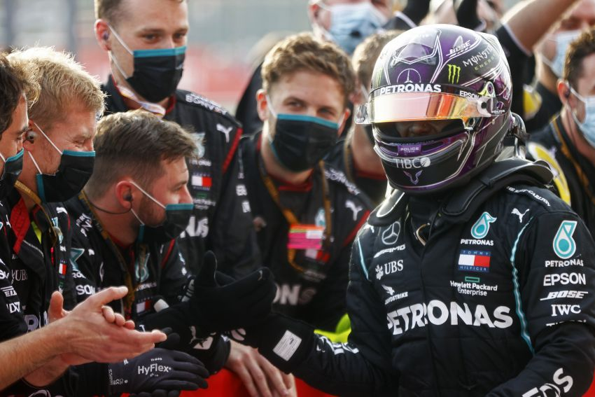 Mercedes AMG Petronas clinches 7th straight F1 titles Image #1202274