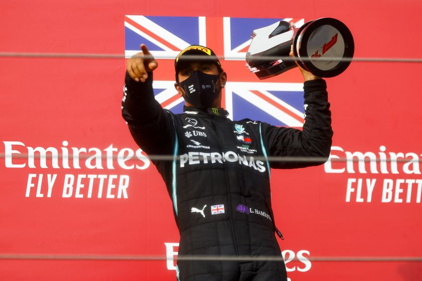 Mercedes AMG Petronas clinches 7th straight F1 titles Image #1202279