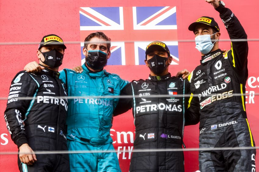 Mercedes AMG Petronas clinches 7th straight F1 titles Image #1202280