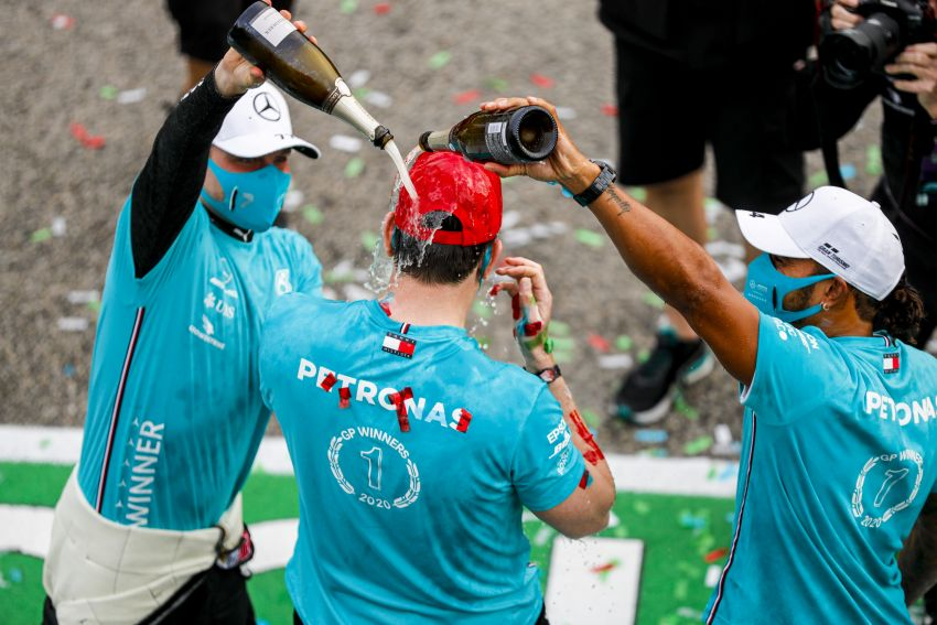 Mercedes AMG Petronas clinches 7th straight F1 titles Image #1202289