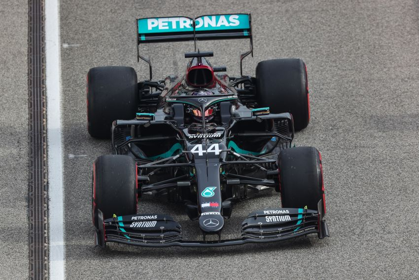 Mercedes AMG Petronas clinches 7th straight F1 titles Image #1202250