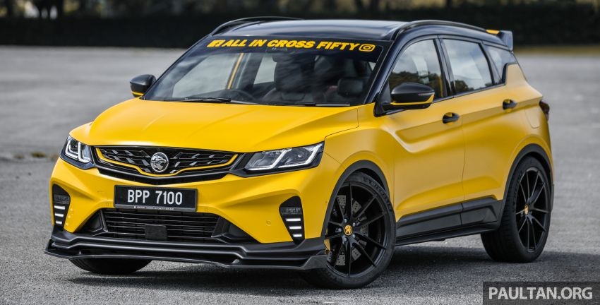 Proton X50 'Bumblebee' – viral yellow SUV with over RM50k worth of modifications inside and outside! Image #1217530
