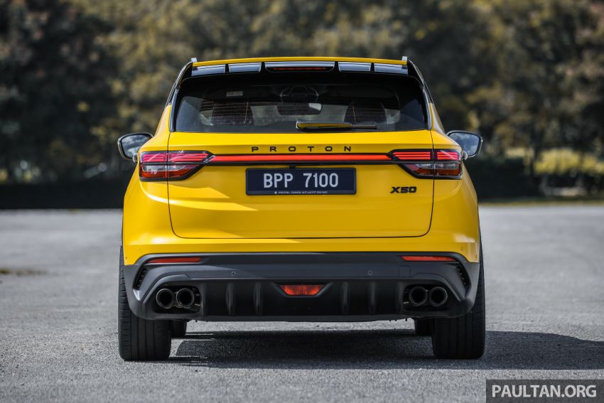 Proton X50 'Bumblebee' – viral yellow SUV with over RM50k worth of modifications inside and outside! Image #1217550