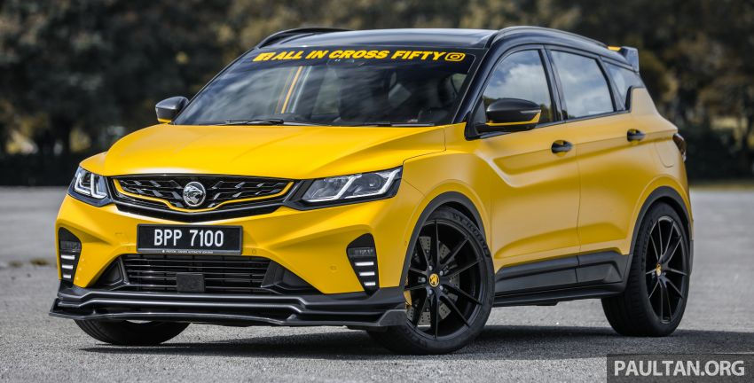 Proton X50 'Bumblebee' – viral yellow SUV with over RM50k worth of modifications inside and outside! Image #1217532