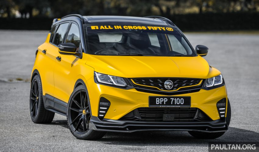 Proton X50 'Bumblebee' – viral yellow SUV with over RM50k worth of modifications inside and outside! Image #1217534