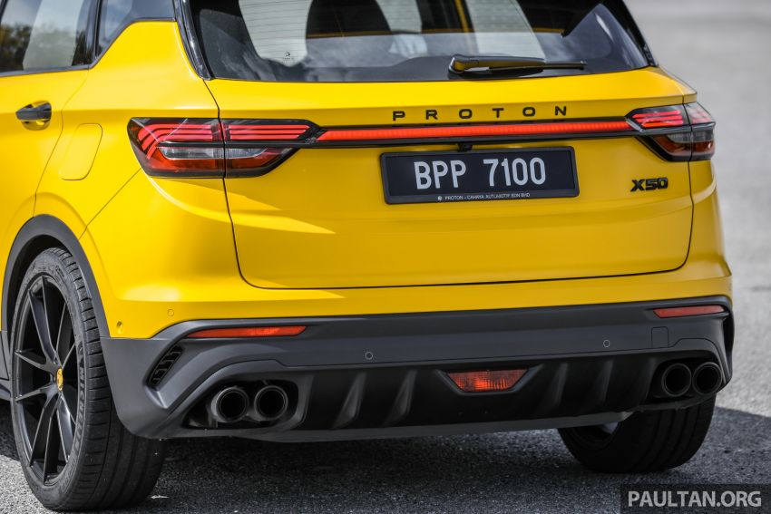 Proton X50 'Bumblebee' – viral yellow SUV with over RM50k worth of modifications inside and outside! Image #1217579