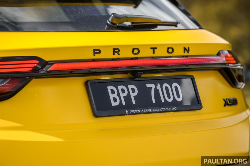 Proton X50 'Bumblebee' – viral yellow SUV with over RM50k worth of modifications inside and outside! Image #1217580