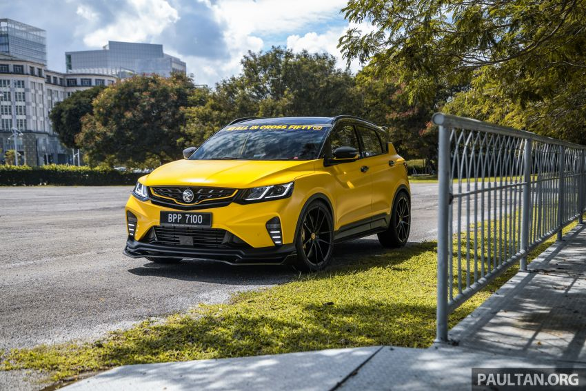 Proton X50 'Bumblebee' – viral yellow SUV with over RM50k worth of modifications inside and outside! Image #1217590