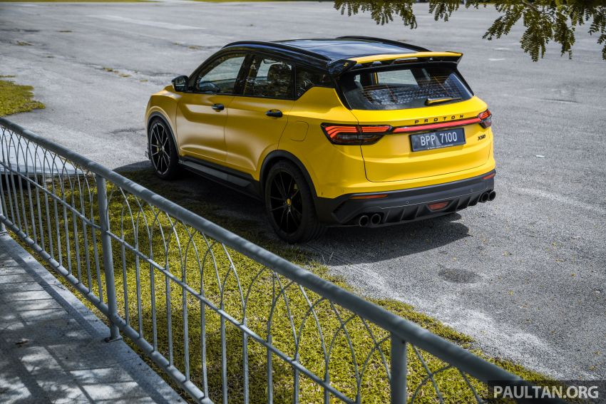 Proton X50 'Bumblebee' – viral yellow SUV with over RM50k worth of modifications inside and outside! Image #1217591